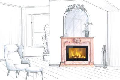 Inserti per Camino a Legna: come riscaldare la stanza