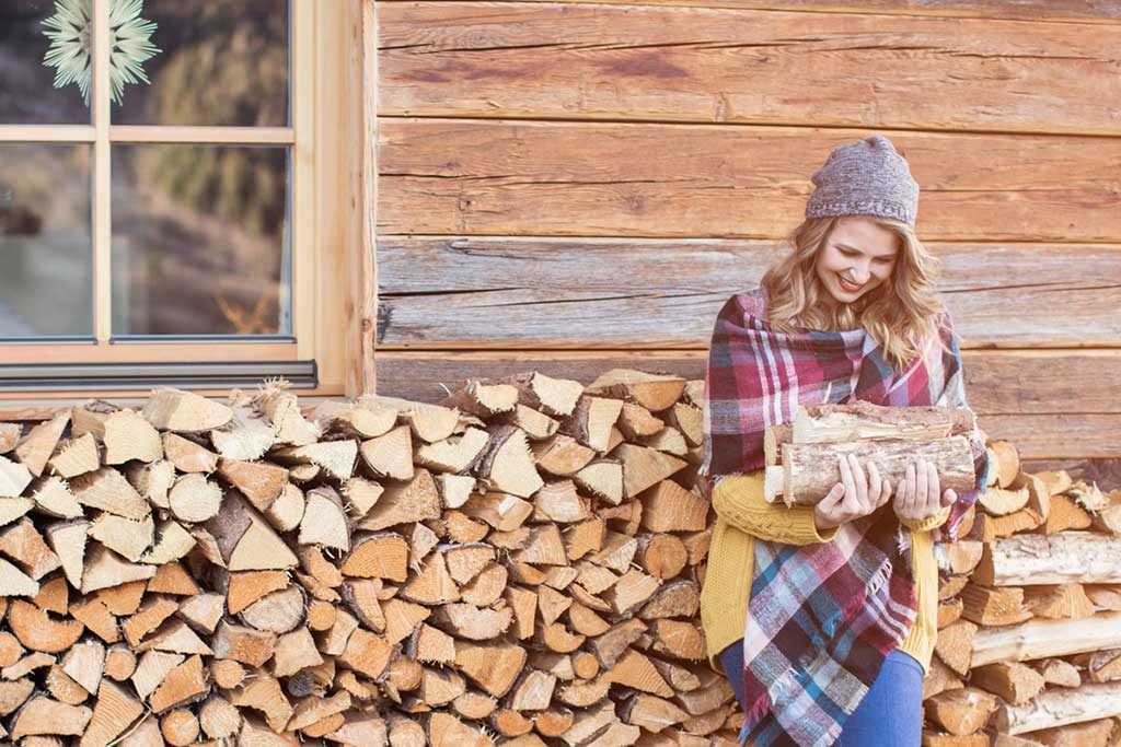 Scegli la legna da ardere migliore per il camino o la stufa