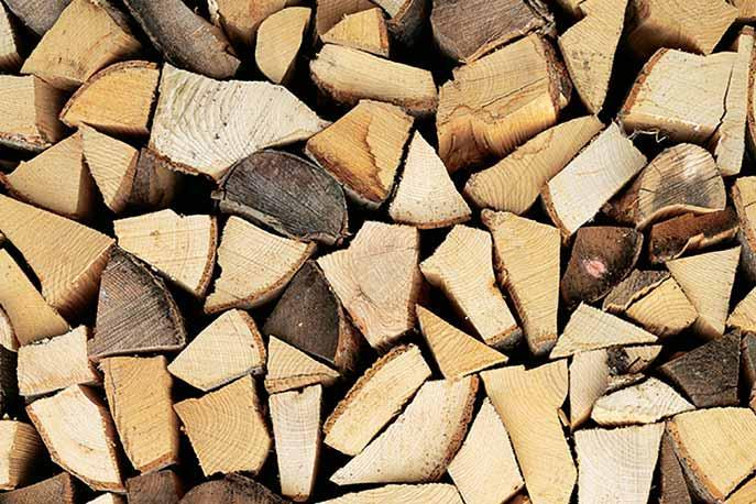 Potere calorifico della legna da ardere -come sceglierla