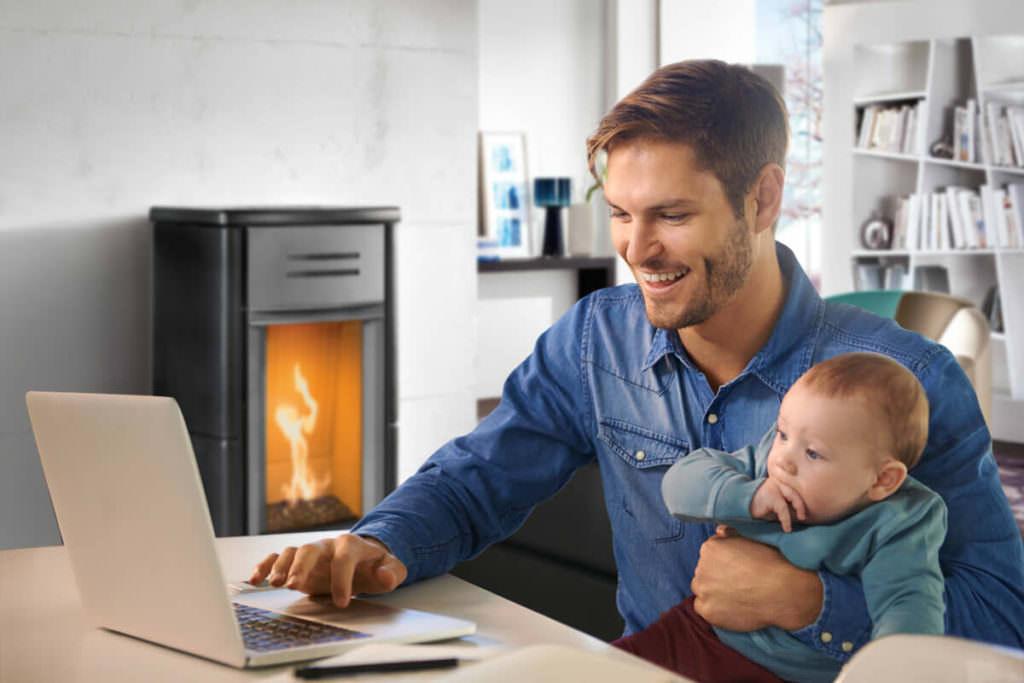Riscaldare casa con una stufa a gas moderna? Sì, oggi meglio di ieri