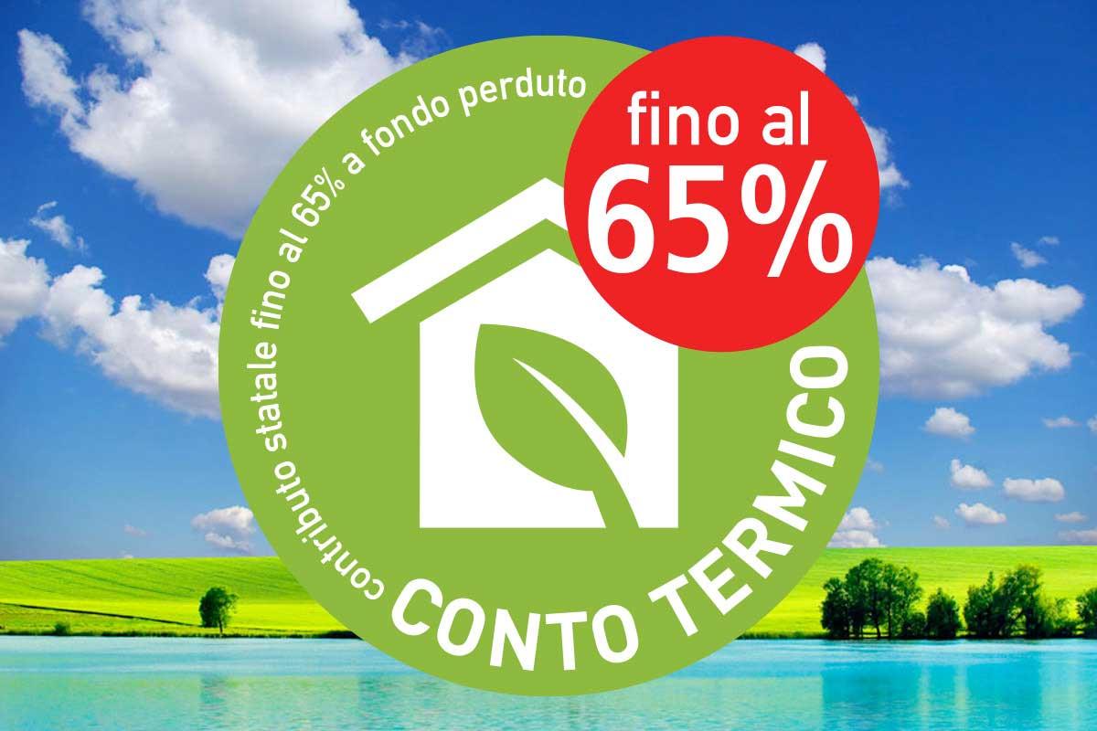 contributo statale 65% fondo perduto conto termico