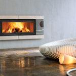 Immagine Idee Stille e Design per l'arrendamento con Camino e Stufa